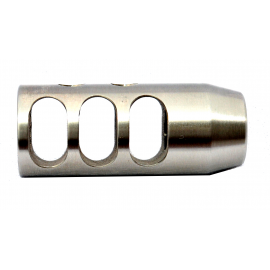 Short Competition Stainless Steel Flash Hider