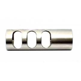 Long Competition Stainless Steel Flash Hider