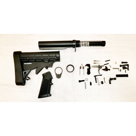 Lower Kit with LE Padded Stock - Black