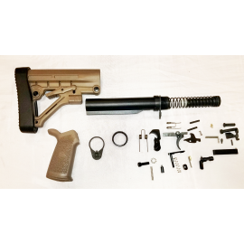 Lower Kit with Omega Padded Stock - FDE