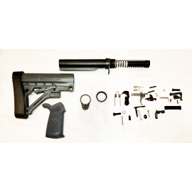Lower Build Kit with Omega Padded Stock - Gray