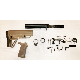 Lower Build Kit with Alpha Stock - FDE