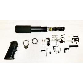 Lower Build Kit with Pistol Buffer Kit