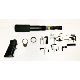 Lower Build Kit with Pistol Buffer Kit