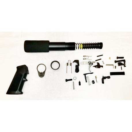 Lower Kit with Pistol Buffer Kit