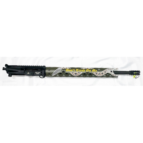 """18"""" 223 Complete Upper Receiver w/15"""" Don't Thread on Me Handguard"""