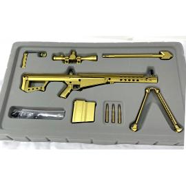 .50 cal Barrett Replica Goat Gun - Gold