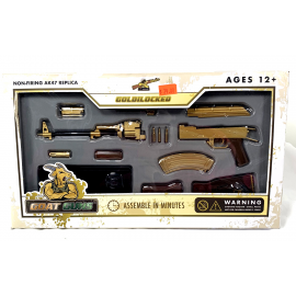 AK47 Replica Goat Gun - Gold