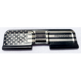 Engraved Dust Cover - Freedom w/Flag