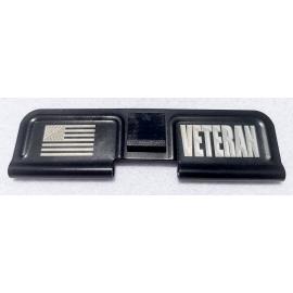 Engraved Dust Cover - Veteran w/Flag