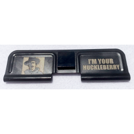 Engraved Dust Cover - I'm Your Huckleberry