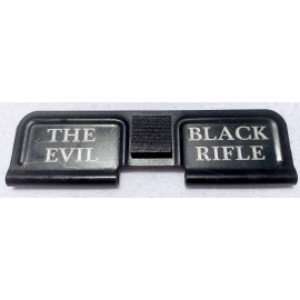 Engraved Dust Cover - The Evil Black Rifle