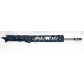 "16"" .223 Stainless Steel M4 Barrel w/12"" Molon Labe Unique AR's Handguard"