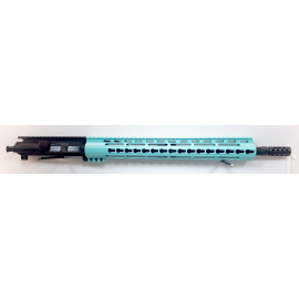 "16"" 5.56/.223 Barrel w/15"" LFA Tiffany Blue Handguard"
